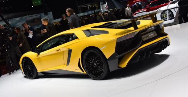 Lamborghini Aventador SuperVeloce - Geneva Motor Show 2015
