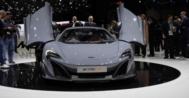 McLaren 675LT - Geneva Motor Show 2015