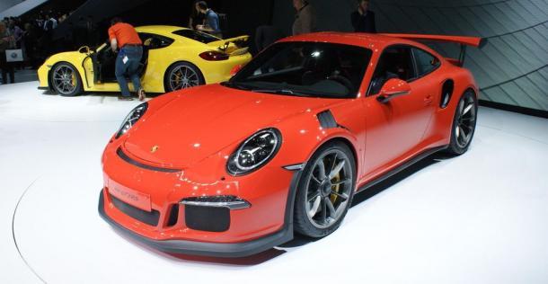 Porsche 911 GT3 RS - Geneva Motor Show 2015