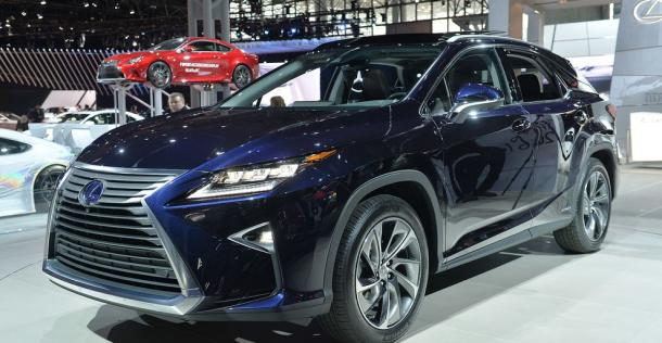 Lexus RX - New York Auto Show 2015