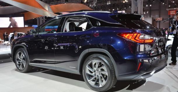 Lexus RX - New York Auto Show 2015