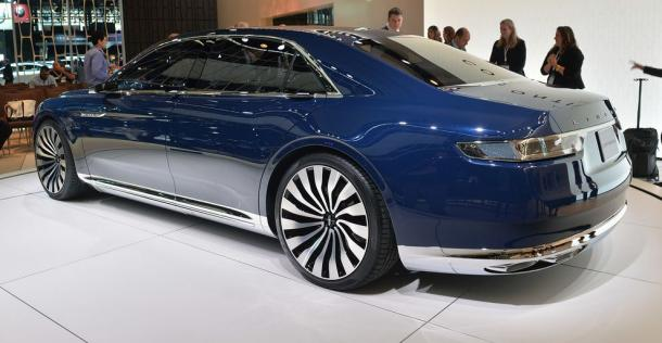Lincoln Continental Concept - New York Auto Show 2015