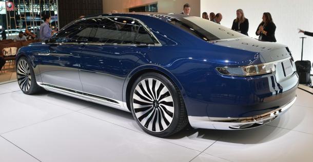 Lincoln Continental Concept - New York Auto Show 2015