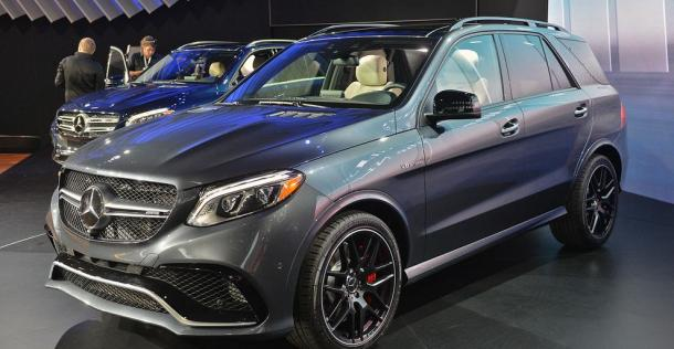 Mercedes GLE - New York Auto Show 2015