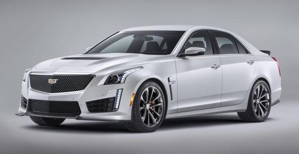 Cadillac CTS-V - wersja fabryczna