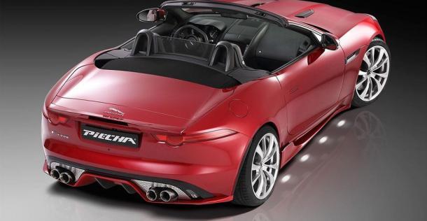 Jaguar F-Type - tuning Piecha Design