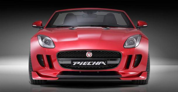 Jaguar F-Type - tuning Piecha Design