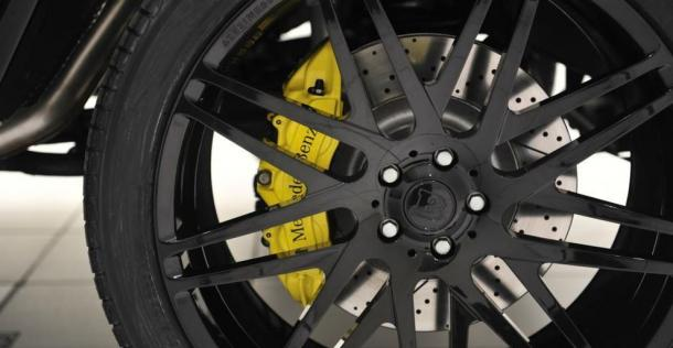 Mercedes G63 AMG - tuning Brabus