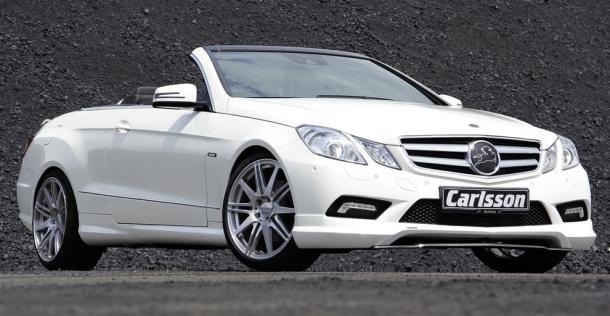 Mercedes klasy E Cabrio tuning Carlsson