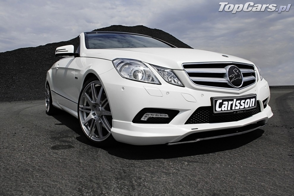 Mercedes | Mercedes klasy E Cabrio poprawiony przez
