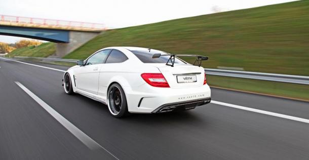 Mercedes C63 AMG Coupe Black Series - tuning VATH