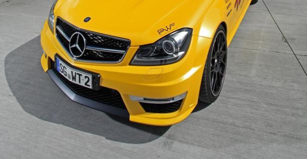 Mercedes C63 Amg Od Wimmer Rennsporttechnik Bardzo Szybkie Kombi