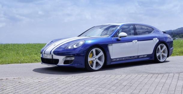 Porsche Panamera Turbo GTP 720 - tuning Gemballa