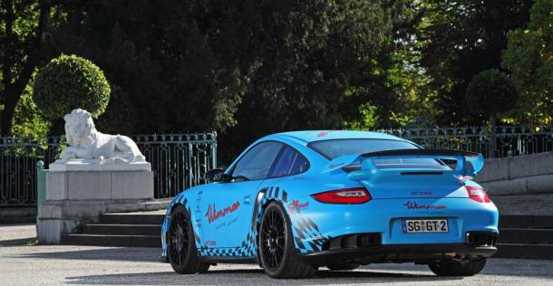 Porsche 911 GT2 RS - tuning Wimmer RS