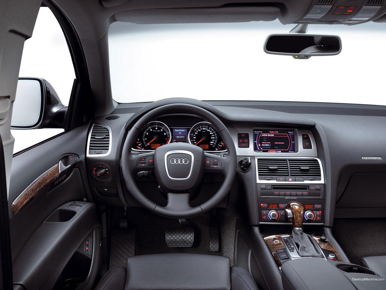 Audi q7 1280x960 b16 tapety na pulpit samochody for Interieur q5