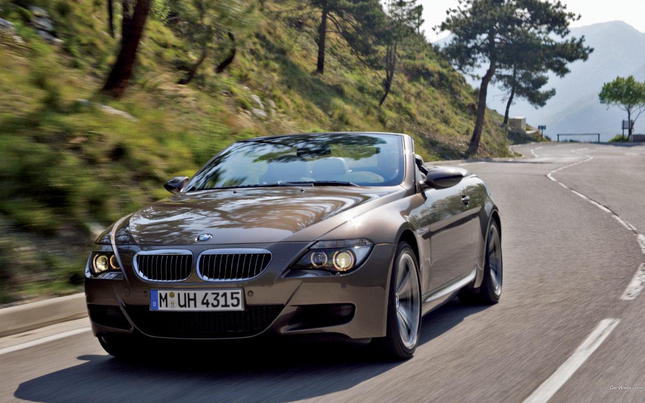 BMW M6 Cabrio 1280x800 b12 Tapety na pulpit samochody sportowe