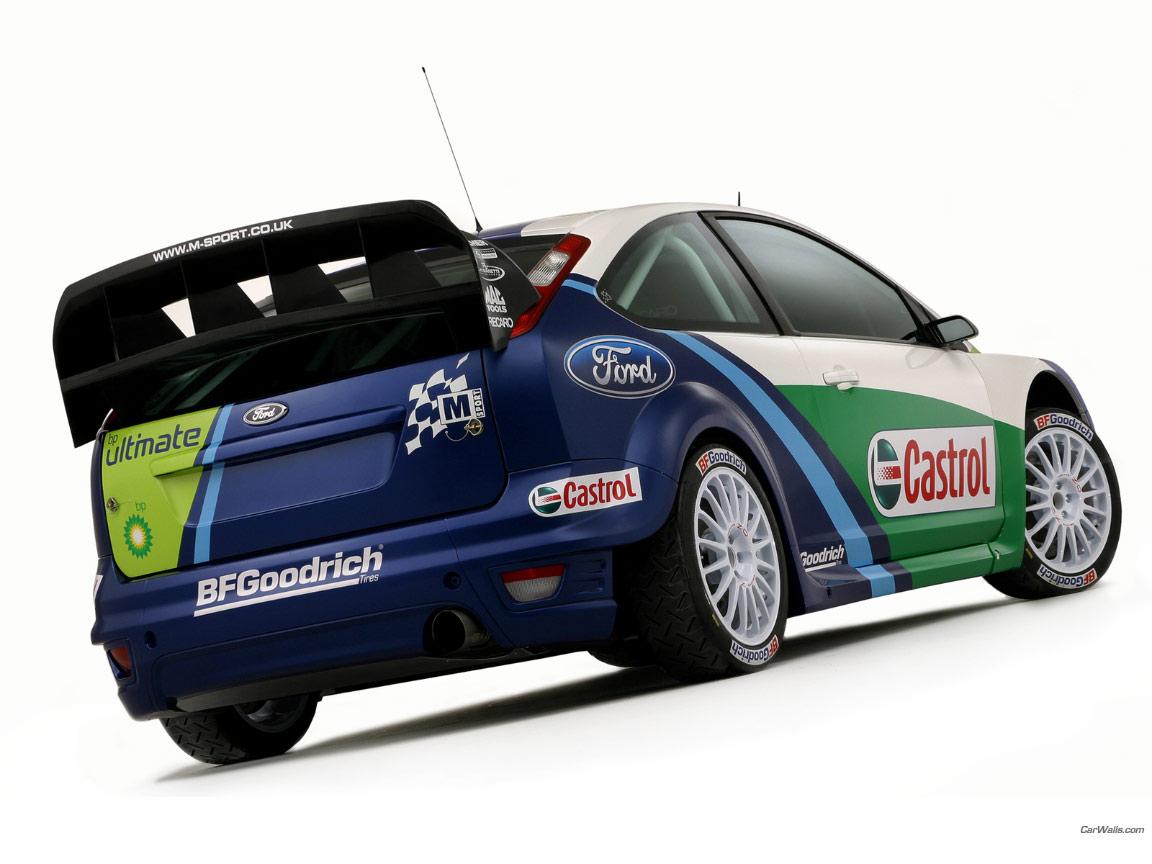 Ford Focus RS World Rally Car 1152x864 b3 - Tapety na pulpit - samochody sportowe, luksusowe ...
