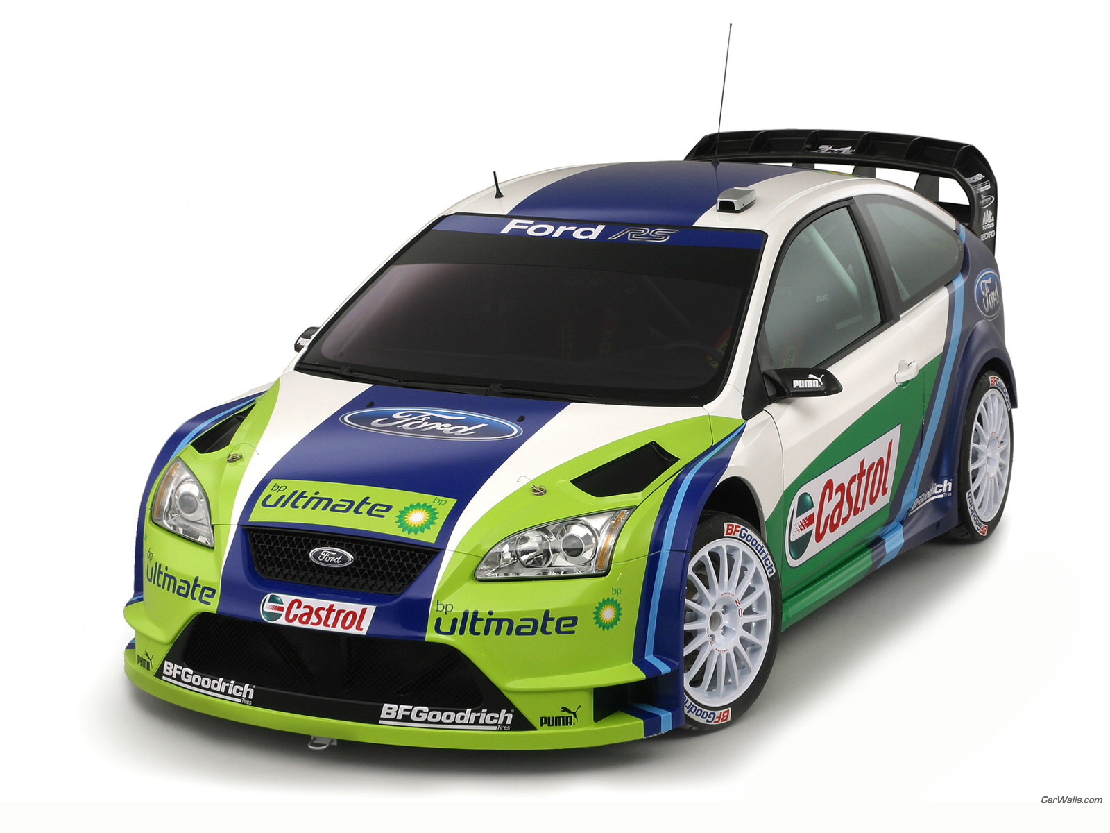Ford Focus Rs World Rally Car 1600x1200 B32 Tapety Na