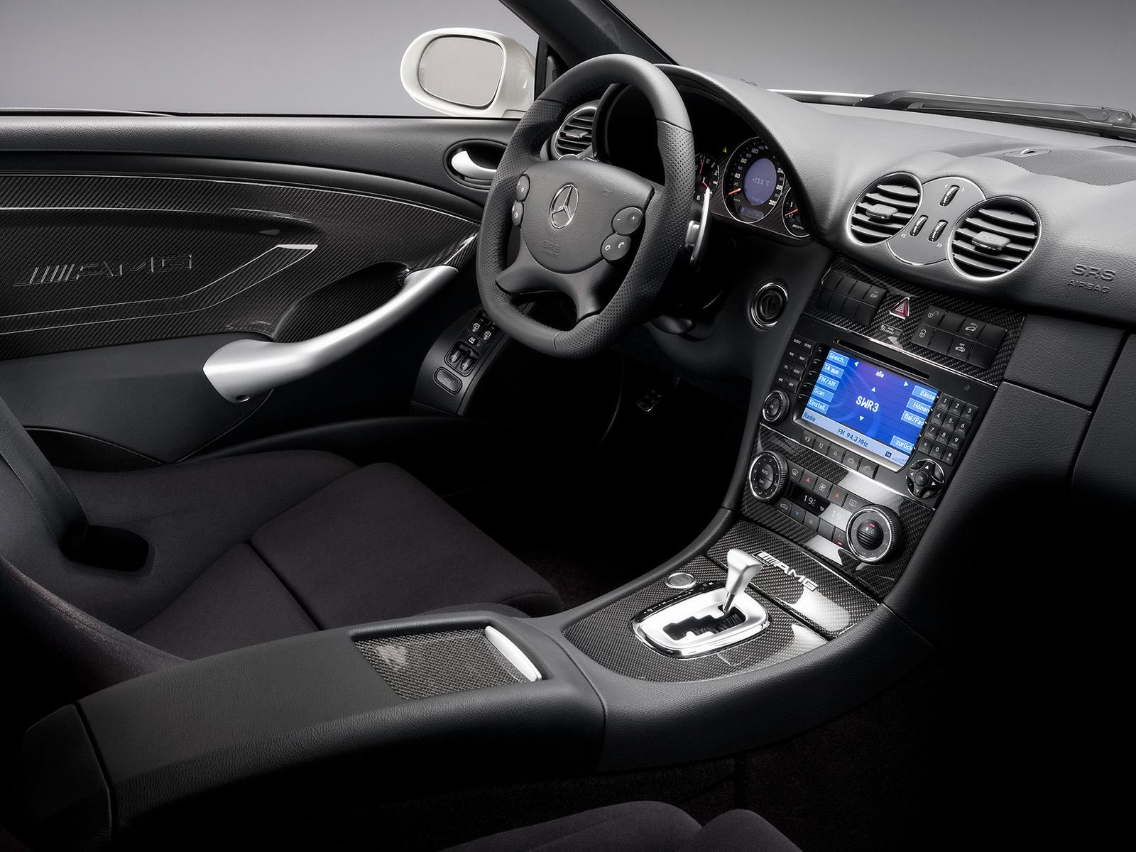 2008 Mercedes Benz Clk 63 Amg Wnetrze 1600x1200 1094